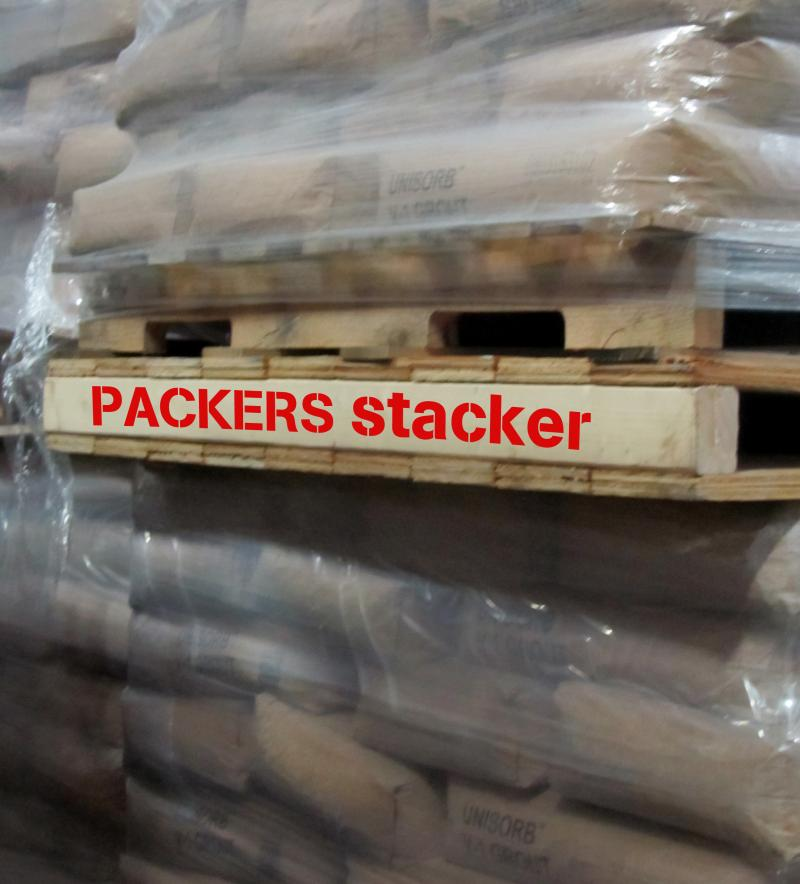Packers stacker Pallet